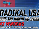 Image of the news Radikal USA Soft-tip Warm up Event at New World Dart Series #2