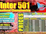 Image of the news 20 more qualified players at the 6th week of the International 501 Winter